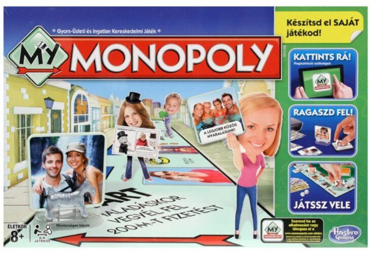 Hasbro - My Monopoly, az én Monopolym társasjáték (824815)