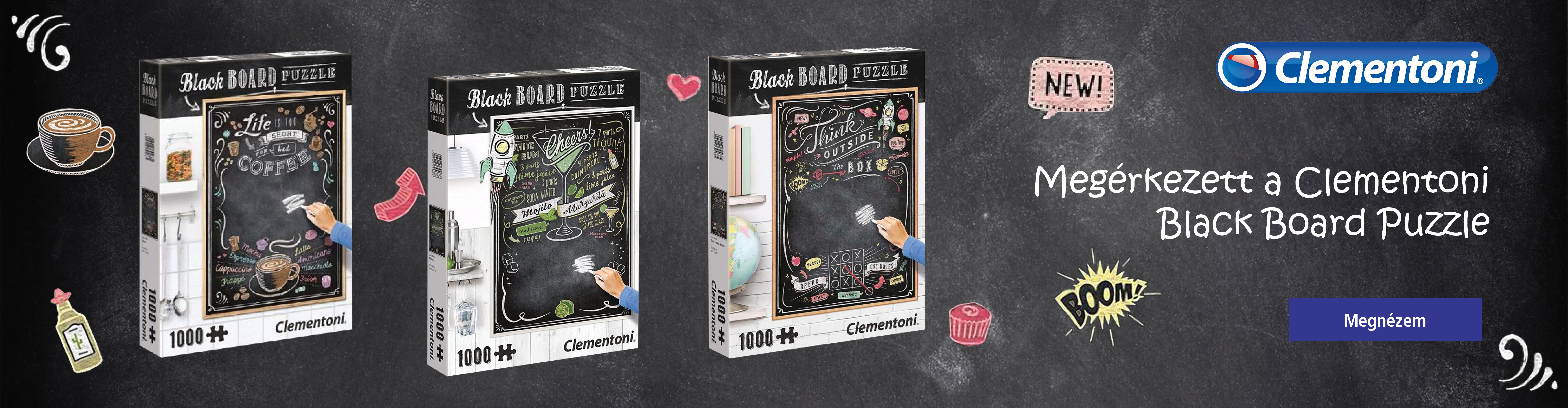Clementoni Black Board