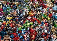 A lehetetlen puzzle - Marvel - 1000 db-os Clementoni puzzle