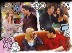 Friends - Jóbarátok 500 db-os Clementoni puzzle