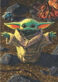 The Mandalorian - Baby Yoda 1000 db-os Educa puzzle