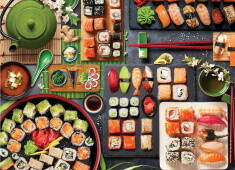 Sushi Table - 1000 db-os Eurographics puzzle