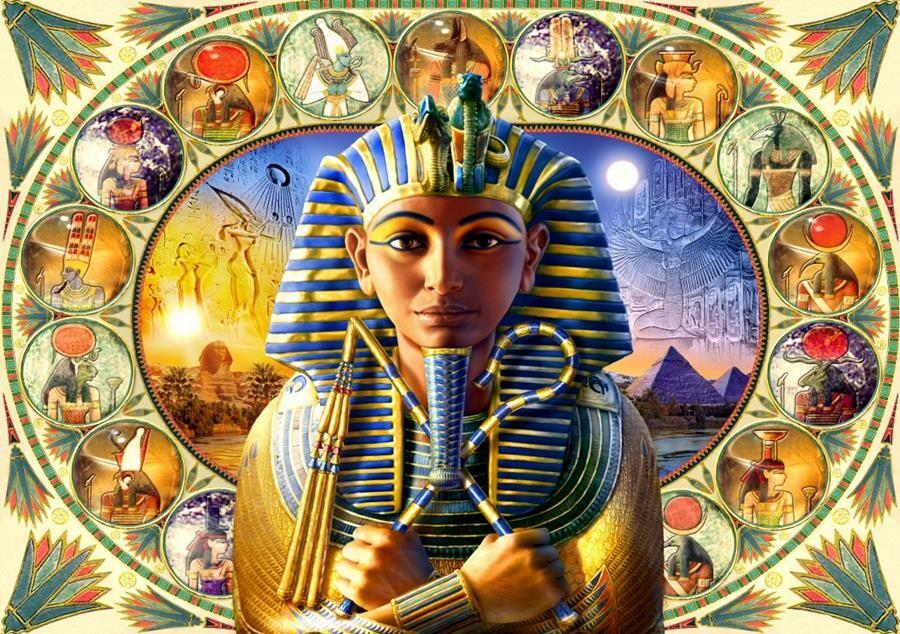 Tutankhamun - 1000db-os puzzle