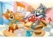 Trefl 16196 - Tom és Jerry - Ínycsiklandó reggeli - 100 db-os puzzle