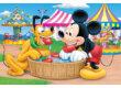 Trefl 18125 - Mickey egér és Plútó a vidámparkban - 30 db-os puzzle