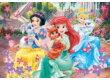 Trefl 30007 - Disney Princess - Palota kedvencei - 160 db-os Shine Color puzzle
