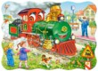 Castorland B-03433 - Zöld mozdony - 30 db-os puzzle