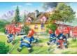 Castorland B-040025 - Tűzoltóság - 40 db-os Maxi puzzle