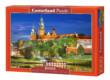 Castorland C-103027 - Királyi palota éjjel - Wawel Lengyelország - 1000 db-os puzzle