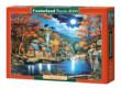 Castorland C-200504 - Kunyhó a tóparton - 2000 db-os puzzle