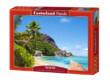 Castorland C-300228 - Trópusi tengerpart Seychelles - 3000 db-os puzzle