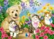 Castorland B-070114 - Legjobb barátok - 70 db-os puzzle