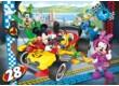 Clementoni 08514 - Mickey és barátai - Boxutca - 30 db-os puzzle