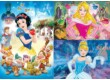 Clementoni 25211 - Disney Princess - 3 x 48 db-os Szuper Színes puzzle