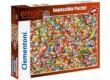 Clementoni 39388 - A lehetetlen puzzle - Emoji - 1000 db-os puzzle