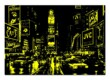 Educa 13047 - Neon puzzle - Time Square New York - 1000 db-os puzzle