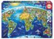 Educa 17129 - Nevezetességek a világ körül - 2000 db-os puzzle