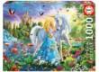 Educa 17654 - A hercegnő és az unikornis - 1000 db-os puzzle