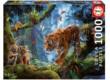 Educa 17662 - Tigrisek a dzsungelben - 1000 db-os puzzle