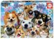 Educa 17983 - Selfies - Kutyák és cicák - 500 db-os puzzle