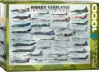 EuroGraphics 6000-0076 - Modern Warplanes - 1000 db-os puzzle