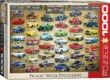 EuroGraphics 6000-0681 - Pickup Truck Evolution - 1000 db-os puzzle