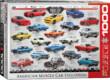 EuroGraphics 6000-0682 - Amerikai izomautó evolúció - 1000 db-os puzzle