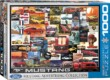 EuroGraphics 6000-0748 - Ford Mustang Advertising Collection - 1000 db-os puzzle