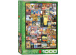 EuroGraphics 6000-0755 - Travel Around the World - 1000 db-os puzzle