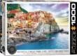 EuroGraphics 6000-0786 - Manarola, Cinque-Terre, Italy - 1000 db-os puzzle