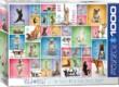 EuroGraphics 6000-0954 - Yoga Dogs - 1000 db-os puzzle
