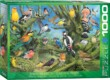 EuroGraphics 6000-0967 - Garden Birds, John Francis - 1000 db-os puzzle