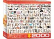 EuroGraphics 8220-0580 - The World of Cats - 2000 db-os puzzle