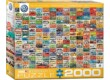 EuroGraphics 8220-0783 - The VW Groovy Bus - 2000 db-os puzzle
