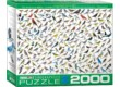 EuroGraphics 8220-0821 - The World of Birds - 2000 db-os puzzle