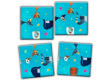 Heye 28501 - Heye puzzle Crazy9 Wachtmeister Cats logikai játék