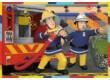 Ravensburger 07584- Sam, a tűzoltó - 2 x 12 db-os puzzle