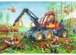 Ravensburger 07802 - Markoló és rönkszállító - 2 x 24 db-os puzzle