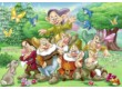 Ravensburger 08859 - Hófehérke és a hét törpe - 2 x 24 db-os puzzle
