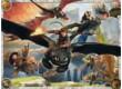 Ravensburger 10015 - Így neveld a sárkányodat - 150 db-os XXL puzzle