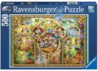 Ravensburger 14183 - Disney család - 500 db-os puzzle