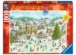 Ravensburger 15290 - Karácsonyi vidámság  - 1000 db-os puzzle