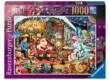 Ravensburger 15354 - A mikulásnál - 1000 db-os puzzle