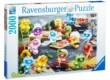 Ravensburger 16608 - Gelini - Konyha főzés szenvedély - 2000 db-os puzzle