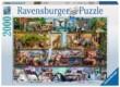 Ravensburger 16652 - Csodálatos vadvilág, Aimee Stewart - 2000 db-os puzzle