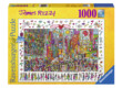 Ravensburger 19069 - James Rizzi - Times Square - 1000 db-os puzzle