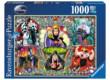 Ravensburger 19252 - Disney gonoszai - 1000 db-os puzzle