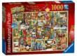 Ravensburger 19468 - Karácsonyi szekrény - Colin Thompson - 1000 db-os puzzle