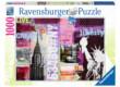 Ravensburger 19613 - Stílus kollázs, New York - 1000 db-os puzzle