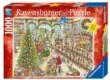 Ravensburger 19668 - Télapó indulásra kész - 1000 db-os puzzle